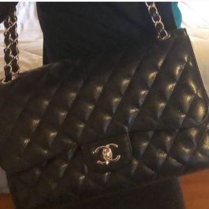 Exquisite Chanel Classic Jumbo Double GP Bag